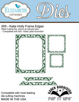 Karen Burniston Pop It Up Elizabeth Craft - Katie Holly Frame Edges 905