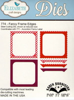 Karen Burniston Retired Pop It Ups by Elizabeth Crafts - Fancy Frame Edges 774