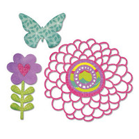 Sizzix Thinlits Die - Springtime 659117