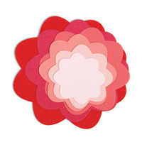 Sizzix Framelits Die Set - Nesting Flowers 657553