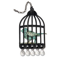Sizzix Bigz Die Tim Holtz - Caged Bird 656634