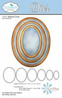 Elizabeth Craft Designs - Stitched Ovals 1113