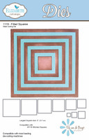 Elizabeth Craft Designs - Fitted Squares 1119