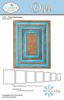 Elizabeth Craft Designs - Fitted Rectangles 1121