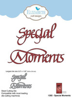 Elizabeth Craft Designs Quietfire - Special Moments 1305