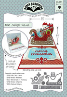 Karen Burniston - Sleigh Pop Up Die Set 1021