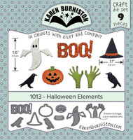 Karen Burniston - Halloween Elements 1013