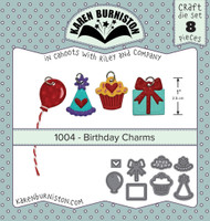 Karen Burniston - Birthday Charms 1004