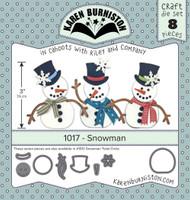Karen Burniston - Snowman 1017
