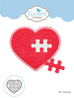 Elizabeth Craft Designs Joset - Puzzle Heart 1458