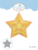 Elizabeth Craft Designs Joset - Stitched Stars 1453