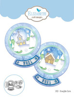 Elizabeth Craft Designs - Snowglobe Scene 1410