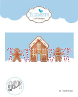 Elizabeth Craft Designs - Gingerbread Home 1406