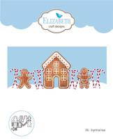 Elizabeth Craft Designs - Gingerbread Home 1406