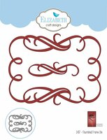 Elizabeth Craft Design Die - Flourished Frame 1437