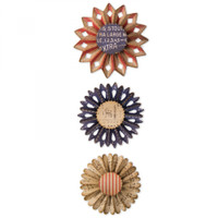 Save Sizzix Thinlits Die Set 6PK TH - Rosette Set 662691