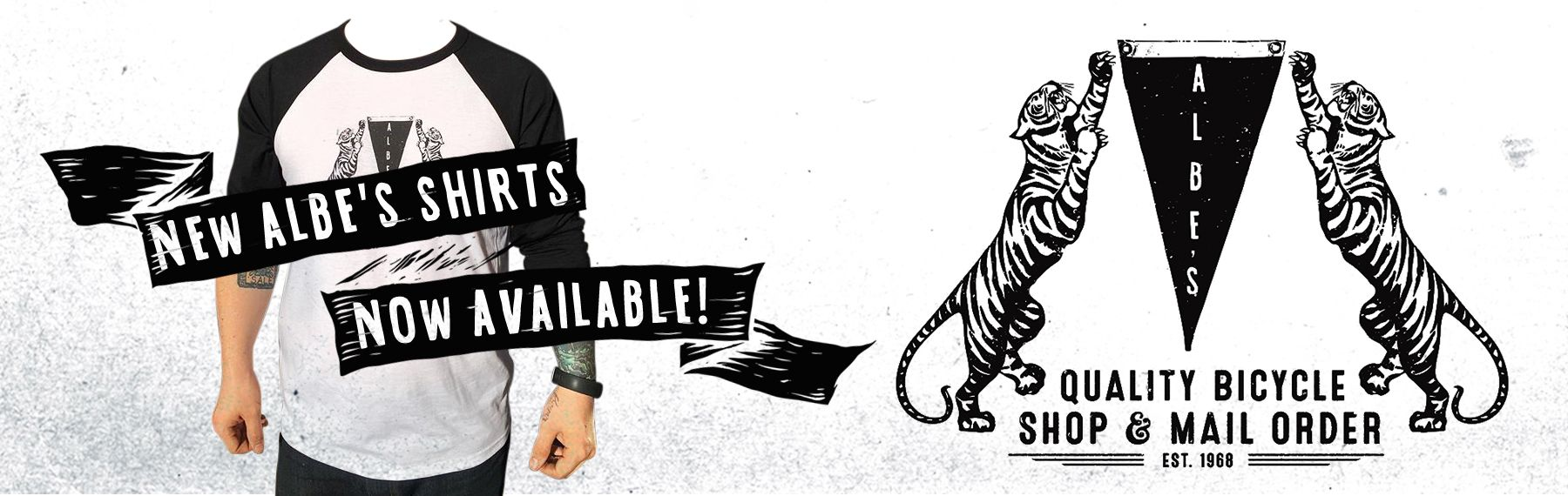 New Albe's BMX Tiger Shirts now available