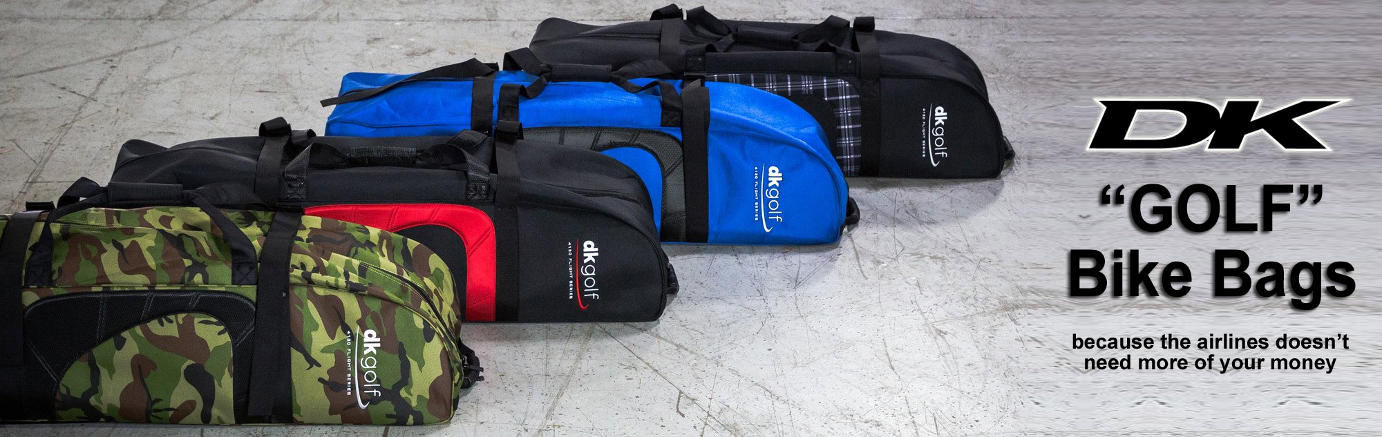 "DK ""Golf"" Bike Travel Bags at Albe's BMX Bike Shop Online"