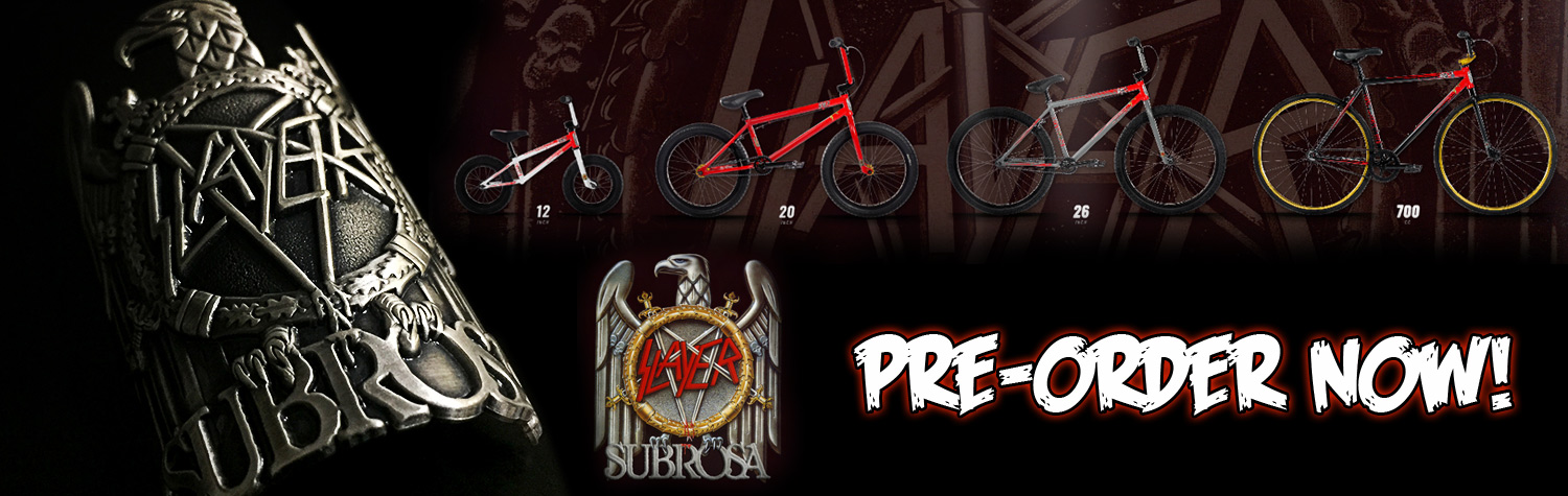 Subrosa X Slayer BMX Bikes at Albe's BMX