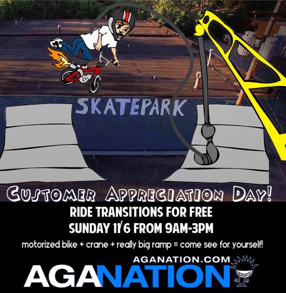 Transition Ramp Park Jam and Free BMX day.