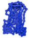 Mission 410 Bike Chain in Blue at Albe's BMX