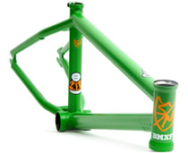 S&M Whammo BMX Frame in Green at Albe's BMX