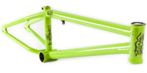 S&M Dagger BMX Park Frame in green at Albe's BMX