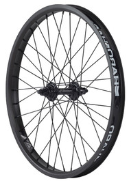 Haro BMX Sata Front wheel in Black at Albe's BMX