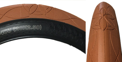 Cult AK tire by Alex Kennedy in gum at Albe's BMX