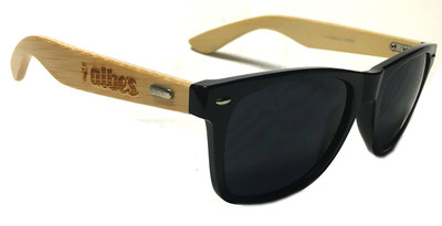 Albe's Shady Bamboo sunglasses in black at Albe's BMX