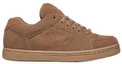 ES Accel OG Shoes in Brown available at Albe's BMX Shop