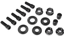 Salt BMX Nut and Bolt Set in Black at Albe's BMX Bike Shop