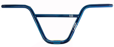Alienation 9s Quarter BMX handle Bars in Nickle Blue at Albe's BMX Shop