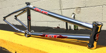 GT Fueler BMX Frame in Chrome at Albe's BMX Bike Shop