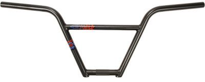 Stranger Piston BMX Handle Bar in Black at Albe's BMX Bike Shop