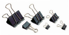 Foldback Clips - Black - 25mm