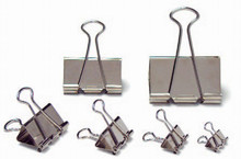 Foldback Clips - Nickle-Plated - 15mm