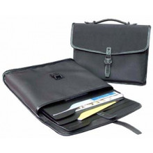 """Florence Office Briefcase - Microfibre - 3 x 11 x 14"""""""