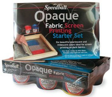 Speedball Opaque Fabric Screen Printing Kit