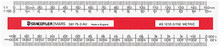 Staedtler Mars Oval Scale Ruler 150mm (AS1212-2)