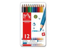 Fancolor Colour Pencils Assort. 12 Box Metal   |  1288.312