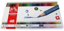 Fancolor Colour Pencils Assort. 40 Box Metal    |  1288.340