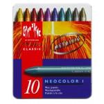 Classic Neocolor I Metallic Assort 10 Box   |  7004.310