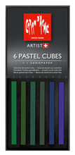 Pastel Cube Assorted Colour Set - Forest | 7806.008