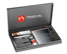 Gift Box Set - Caran D'Ache Graphite Line in Titanium Box | 3000.415