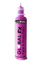Global FX Face & Body Paint 36ml - Fluoro Neon Purple
