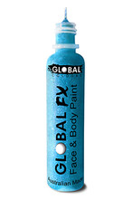 Global FX Face & Body Paint 36ml - Fluoro Neon Blue