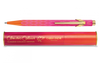 849 Claudio Colucci orange and pink ballpoint pen - limited edition  |  849.121