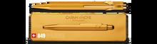 849 Ballpoint Pen with Slim Pack Box - Goldbar   |  849.999