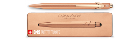 849 Ballpoint Pen with Slim Pack Box - Brut Rose  |  849.997